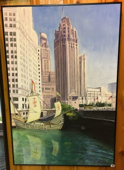 80-Spanish Boat Tribune Tower