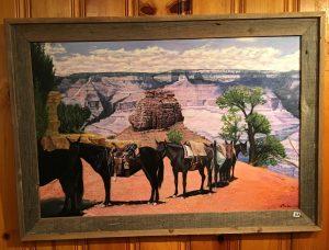 88-Train Mules - Grand Canyon