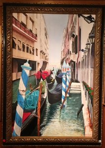 91- Venetian Canal Scene